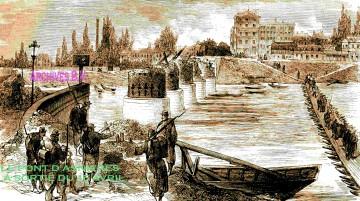 Anieres,pont de bateaux,la sirène,van Gogh,général Eudes,Commune de Paris