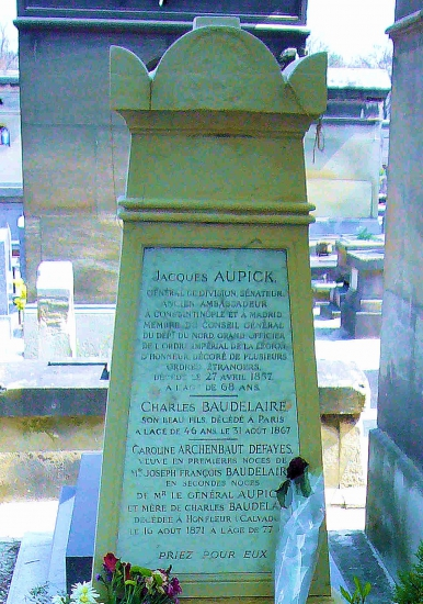 BAUDELAIRE à MONTPARNASSE pierre.jpg