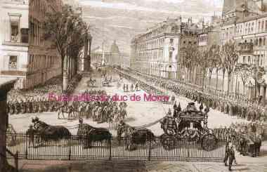 duc de morny,Madeleine église,Napoléon III