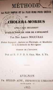 charlatans,choléra,infimières,sages-femmes,pharmaciens