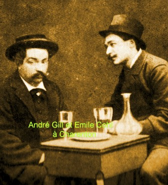Emile Cohl,andré Gill,Charenton