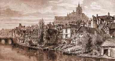 Le Mans,général marceau,1868,germain pilon,Aulerci cenomani,peste,incendies,tressan