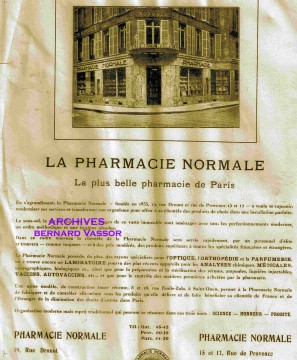 Pharmacie,drouot,garde nationale