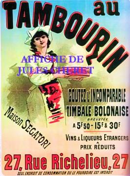 szgatori tambourin  27 rue de Richelieu CHERET.jpg