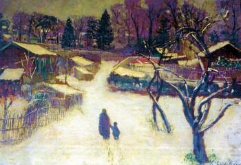 Gardel Garches neige 1939.jpg