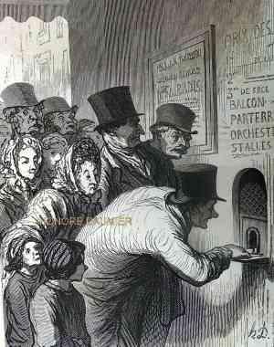 Daumier,soeurs romani,arlequin lazari,saqui,audinot,nicolet,comte falkenstein,la guinguette,polissonne,Paul jones,