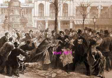 Louis-Xavier de Ricard, café de Suède,Charles Longuet,commune de Paris,journaux,journal des Débats,bien-être public