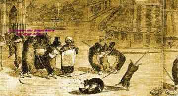 Léon Goupil,Georges Brassens,rat mort,place Pigalle,