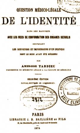 ALEXINA,docteur TARDIEU