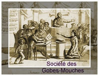 Pièce facétieuse Initiation à la société secrète des Gobe-mouches.cadre.jpg