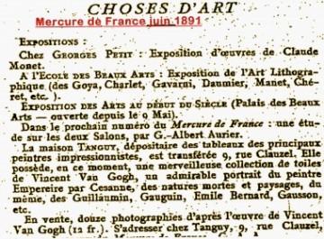 Cézanne,Emile Bernard,Gauguin,van Gogh,Léo Gausson