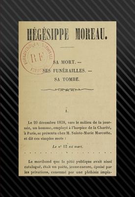 Hégésippe Moreau, sa mort, ses funérailles, sa tombe CADRE.jpg