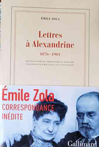 Emile Zola,alexandrine,Brigitte Emile-Zola,Alain Pagès