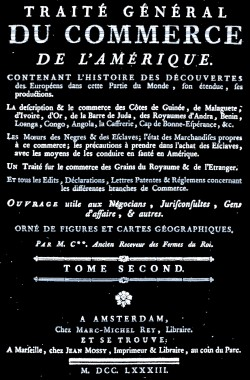 louisiane,guyane,antilles,esclavage,traite des Noirs